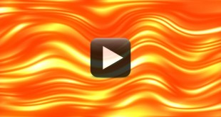 Golden Waves Animation Background Video Loops