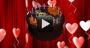 Happy Birthday Animation Video Free Download