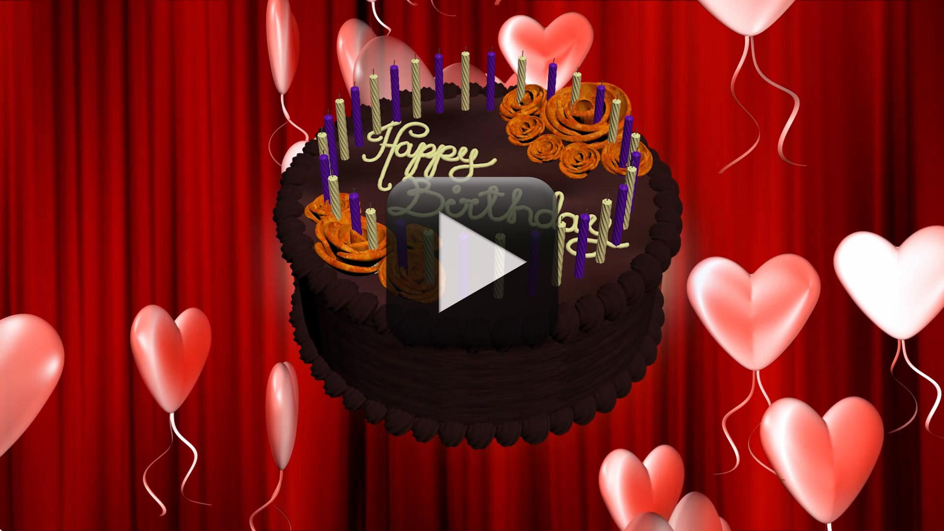 Happy Birthday Animation Video Free Download All Design Creative