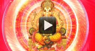 Motion Backgrounds Worship Background-God Ganesh video effect