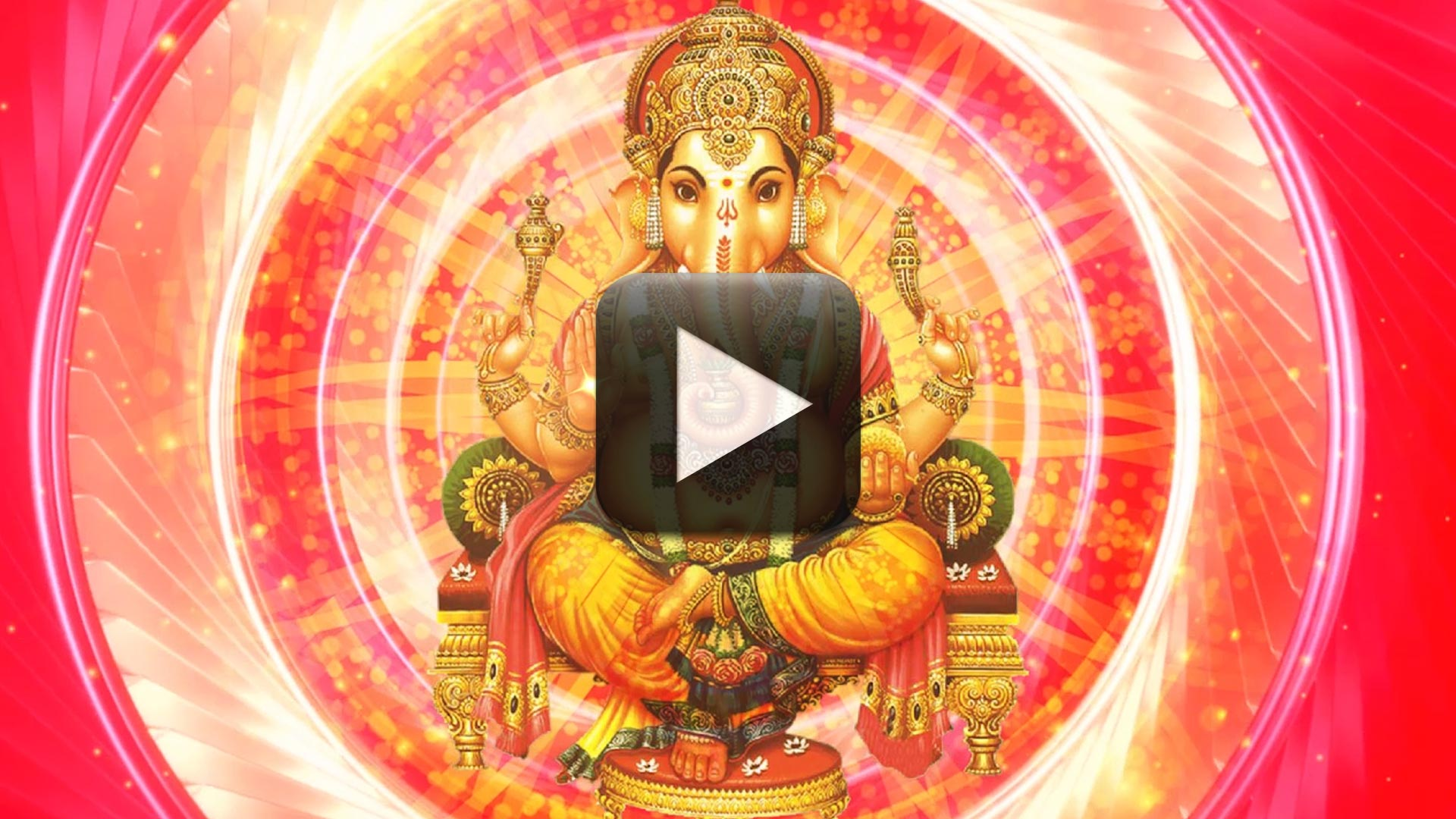 Motion Backgrounds Worship Background-God Ganesh video effect