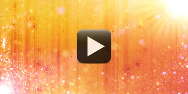Wedding Intro Video Effects Warm Sun Motion Background