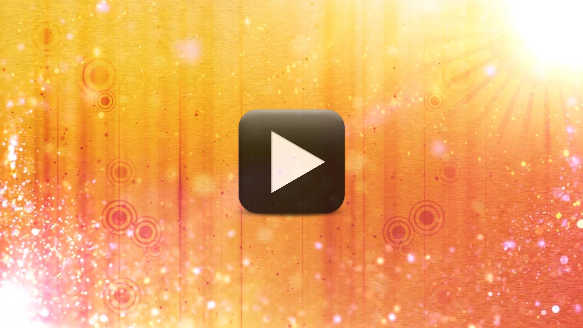 Wedding Intro Video Effects -Warm Sun Motion Background