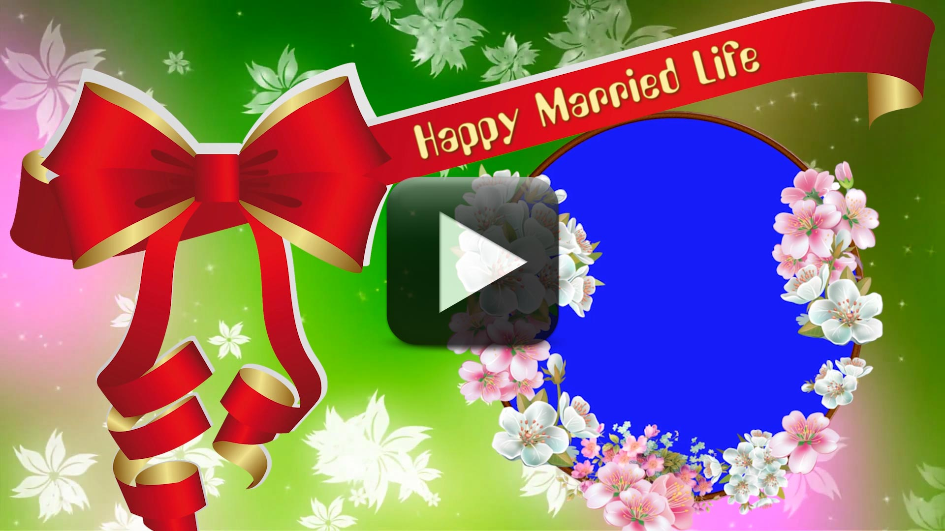 Wedding Motion Backgrounds-Happy Married Life