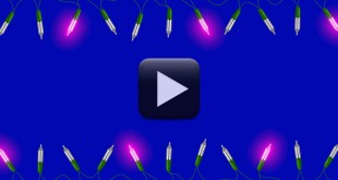 Blinking Lights Video Frame Animation