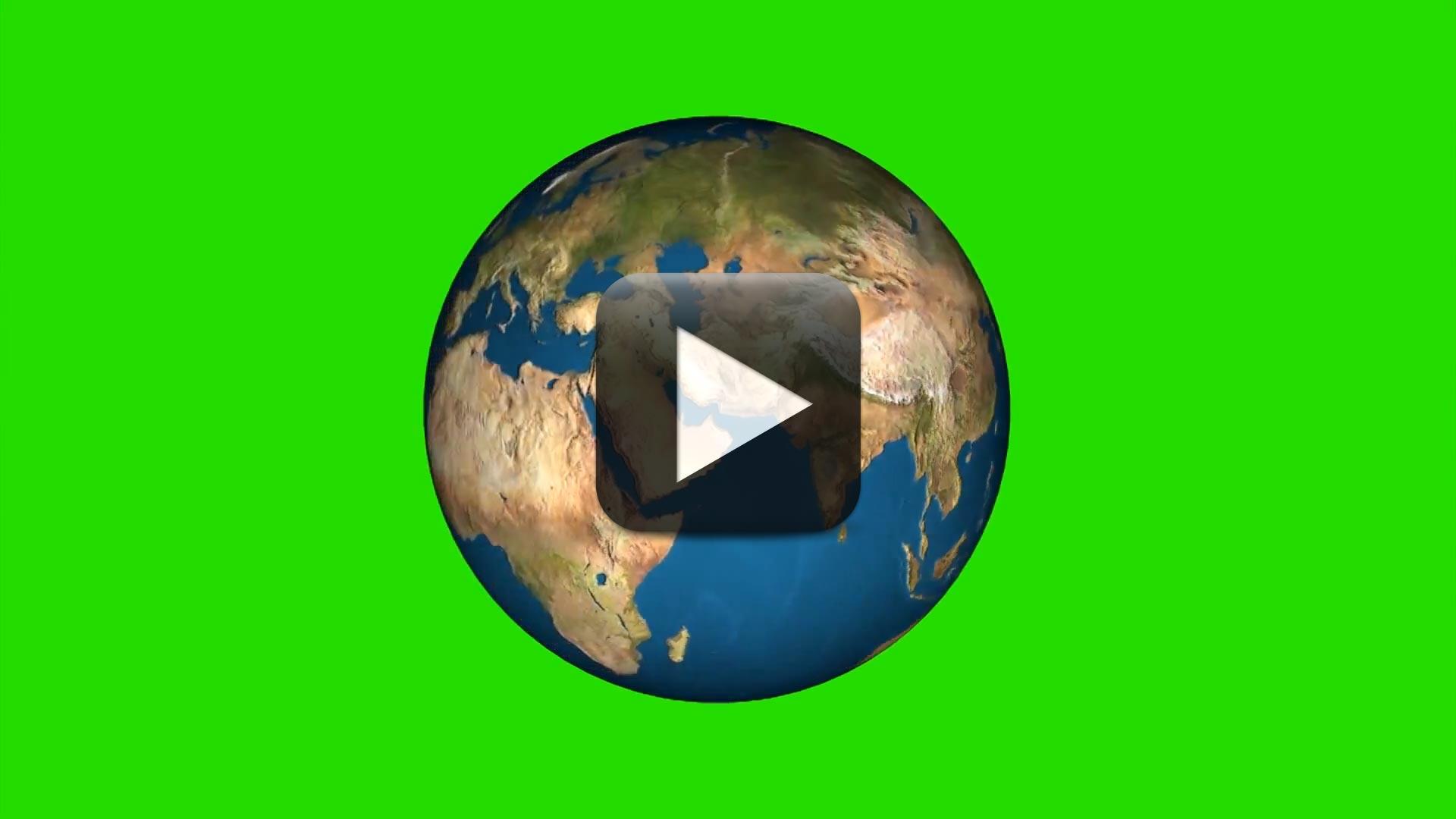 Green screen globe earth rotation video effects all design creative ccuart Choice Image