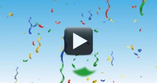 Confetti Video Background Full HD-Animated Celebration