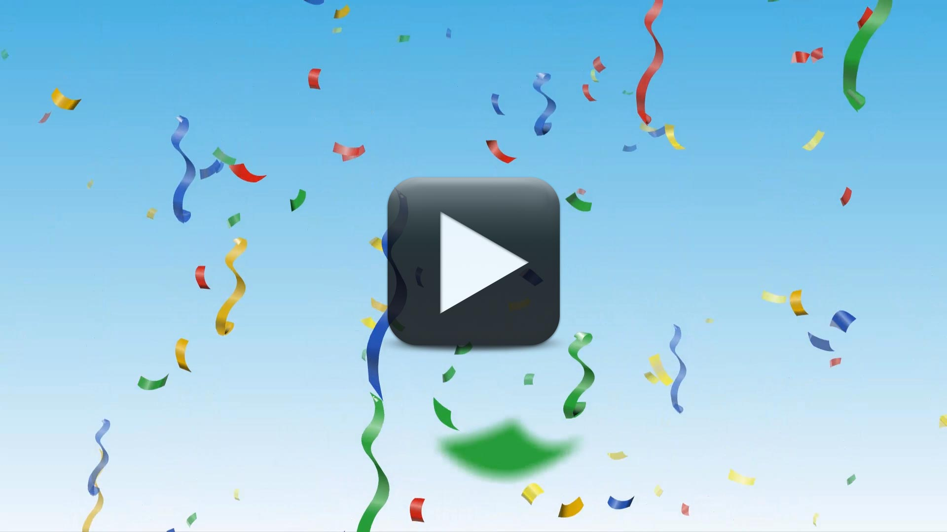 Confetti Video Background Full HD-Animated Celebration