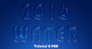 Glass Text Effect Photoshop Tutorial