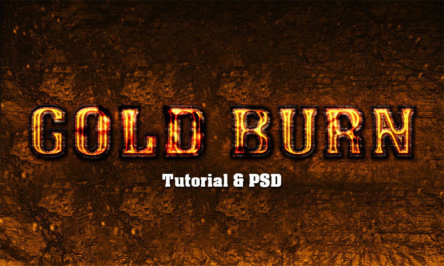 fire text effect psd free download