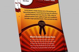 Free business flyer templates PSD-cover-design