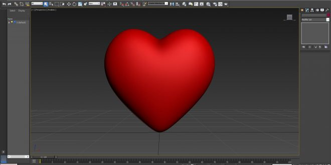 love heart 3d model free download all design creative