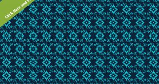 Flower Fabric Texture Free Stock Image