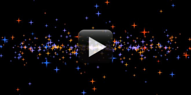 Animated Moving Stars Video Background Effect Free