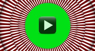 Hypnotic Circle Background-Green Screen Hypnosis Animation Frame