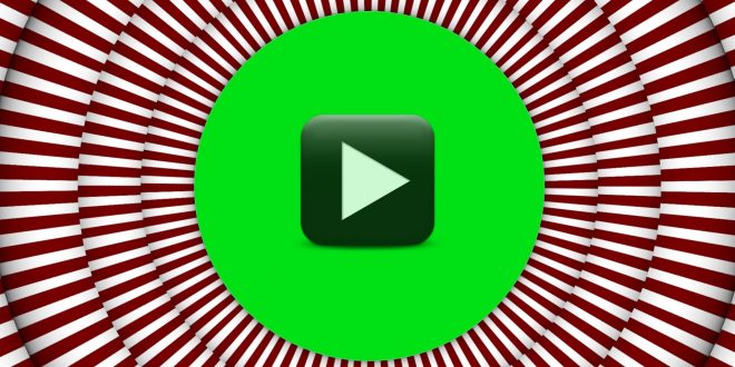 Hypnotic Circle Background Green Screen Hypnosis Animation