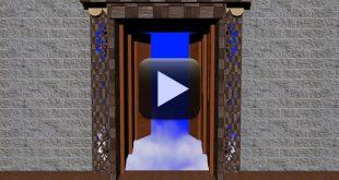 Opening Heavens Doors Animated-Wedding Background Video