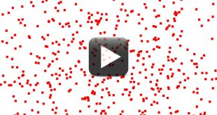 HD Red Box Animated Background Video