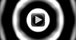 Loopable Seamless Cyclic Animated Background Video with Expanding Circles