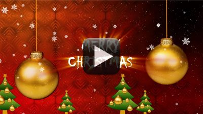 Merry Christmas Greeting Video Download All Design Creative
