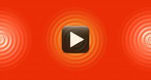 Ripple Animation Background-Red & Orange Combination