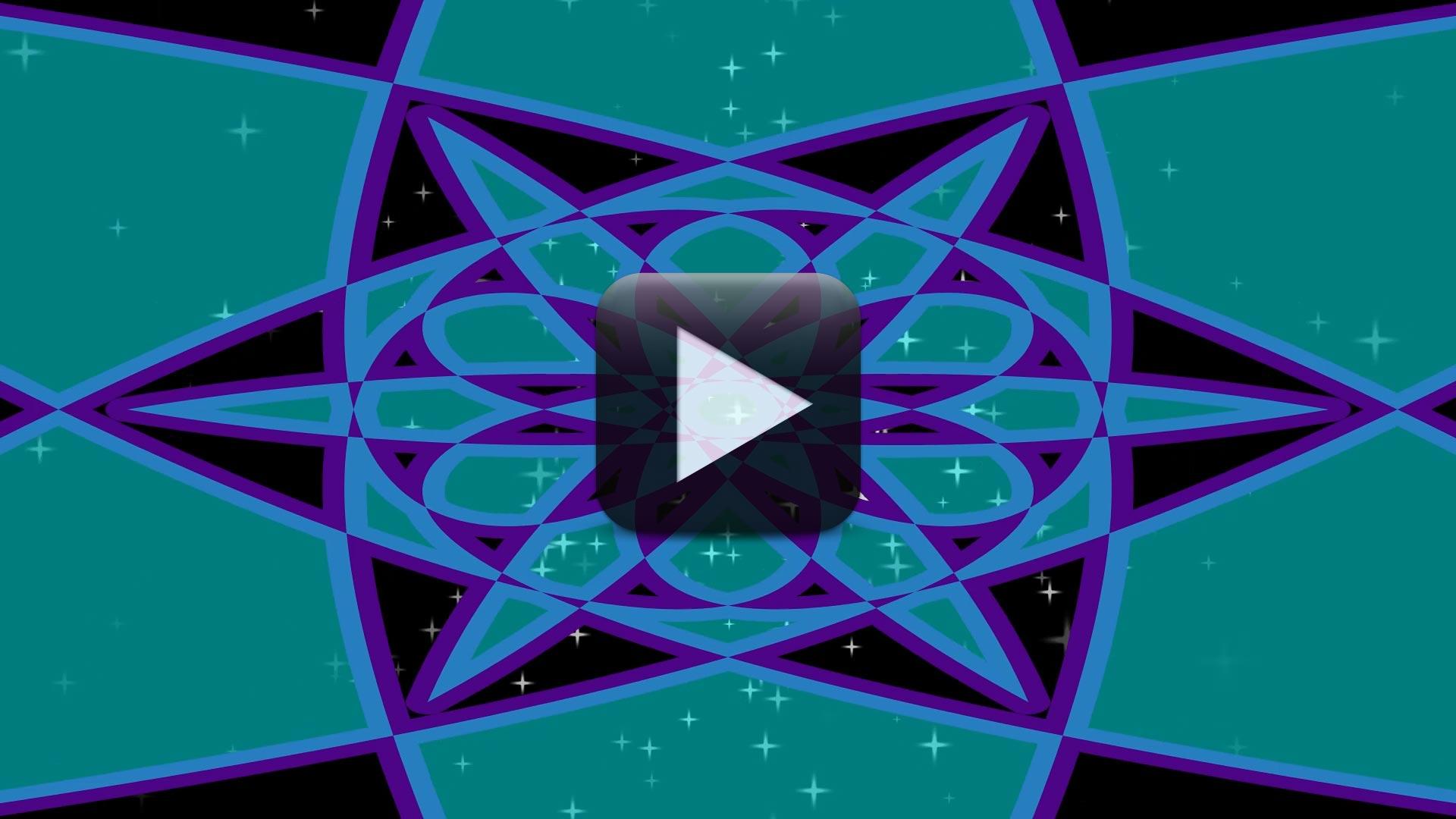 The Splendor of Different Colors Kaleidoscope Video 1080p