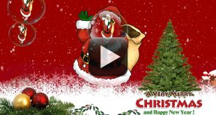 Wish You A Merry Christmas & Happy New Year 2017, Greeting, Whatsapp Video
