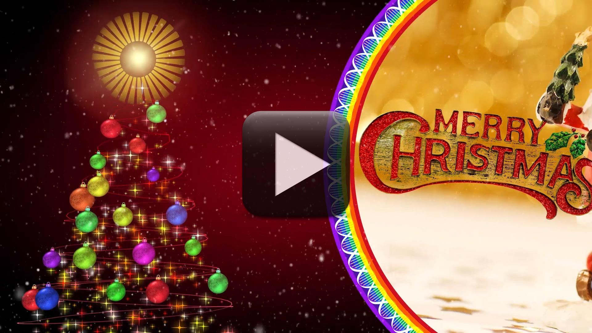 merry christmas greetings video free download all design creative - Christmas Wishes Video