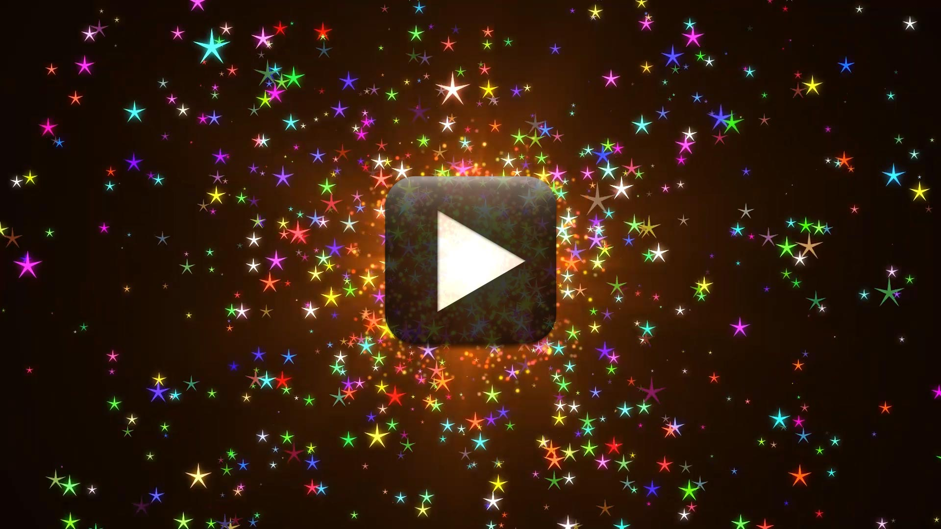 HD Moving Stars Background Video Loops