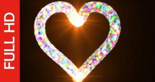 Stroke Animation Video-Free Heart Shaped Video Effect