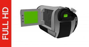 Free Download Animated Digital Camera Display Green Screen Footage