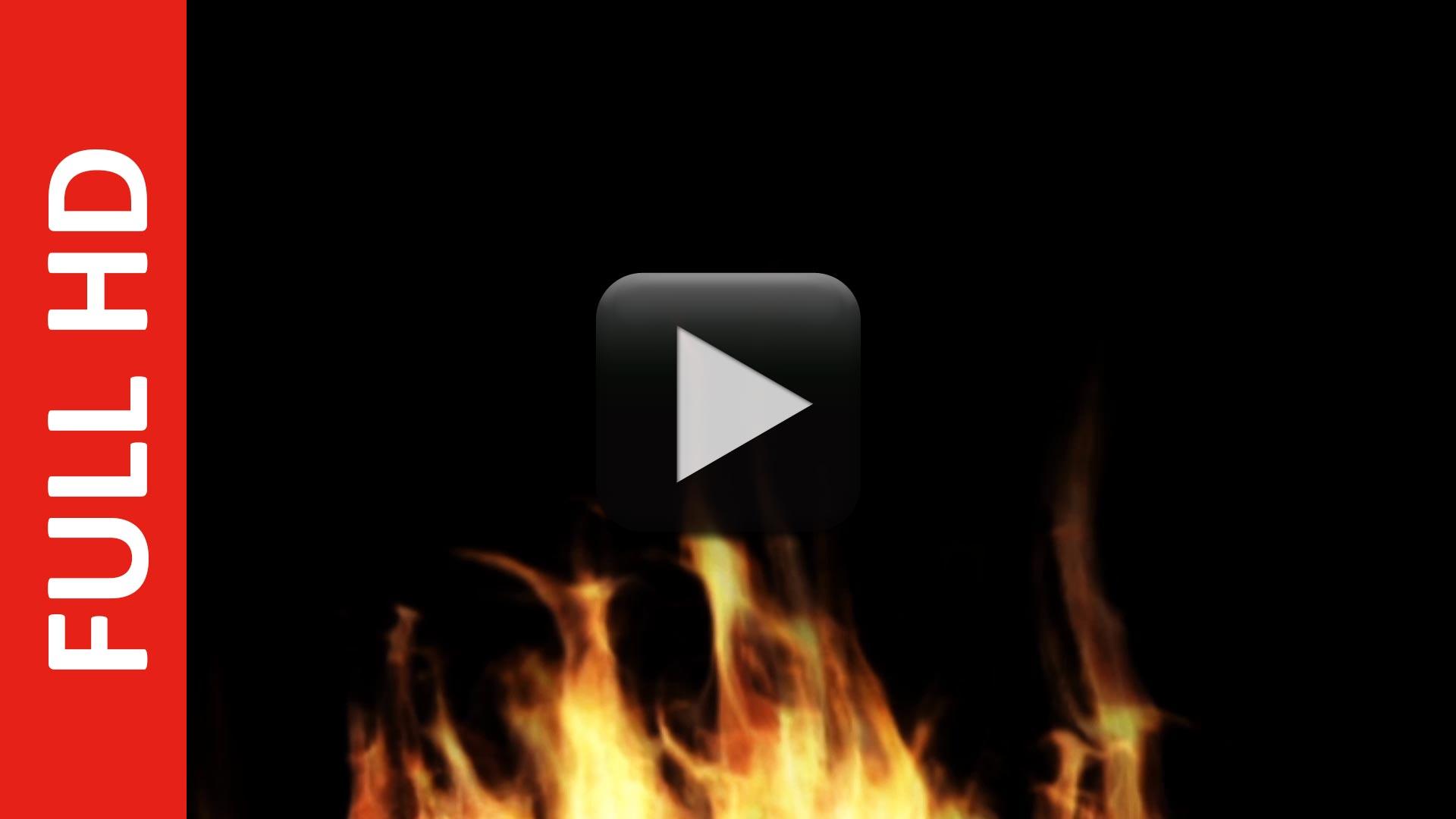 Free Fire Stock Footage HD | Black, Blue, Green, White Screen Video Effect