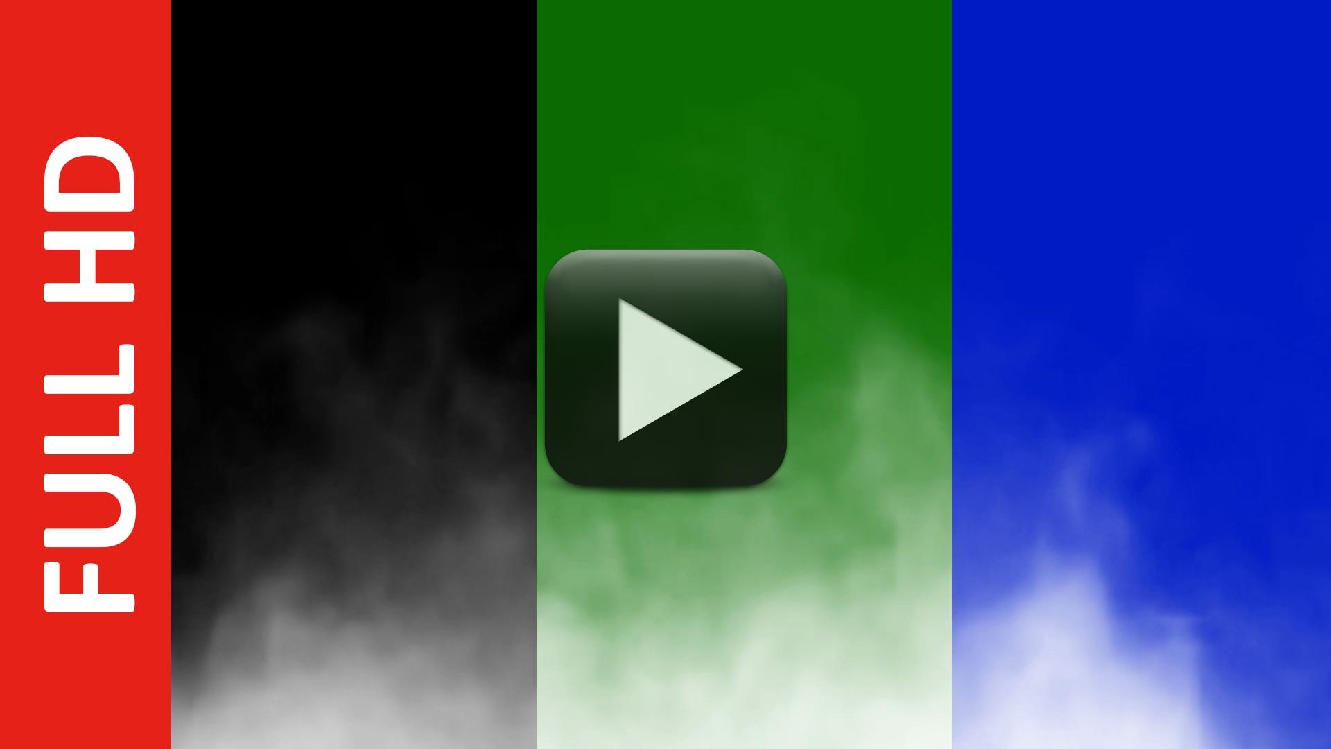 Smoke Black | Green | Blue Screen Effect HD Video Free Download