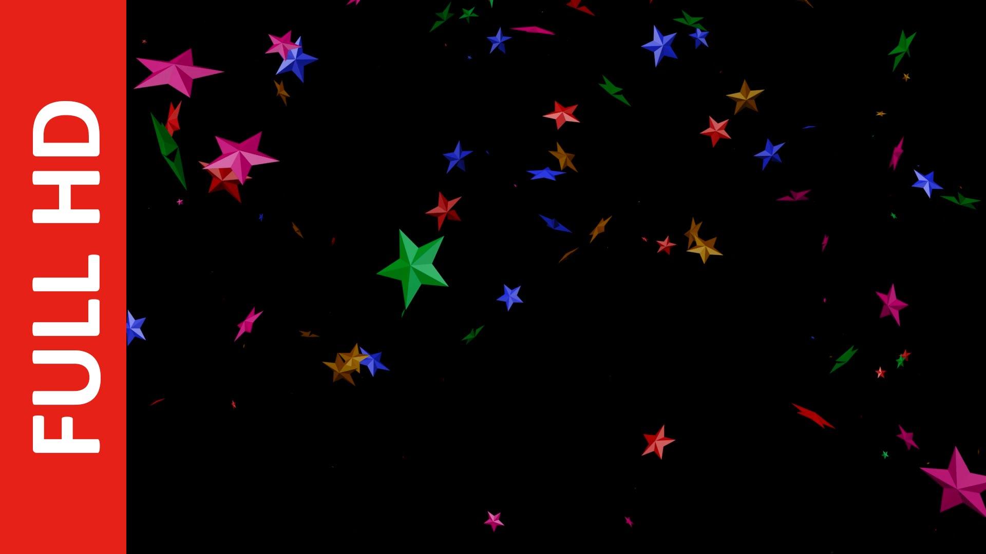 Falling Stars Background Video