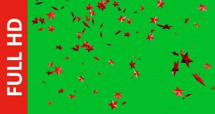 Falling Stars Green Screen Free Download