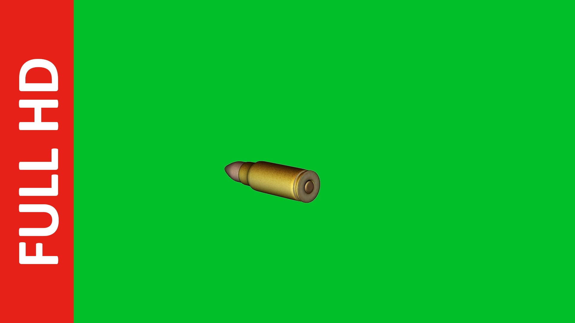 fast slow motion flying bullet green screen free stock footage