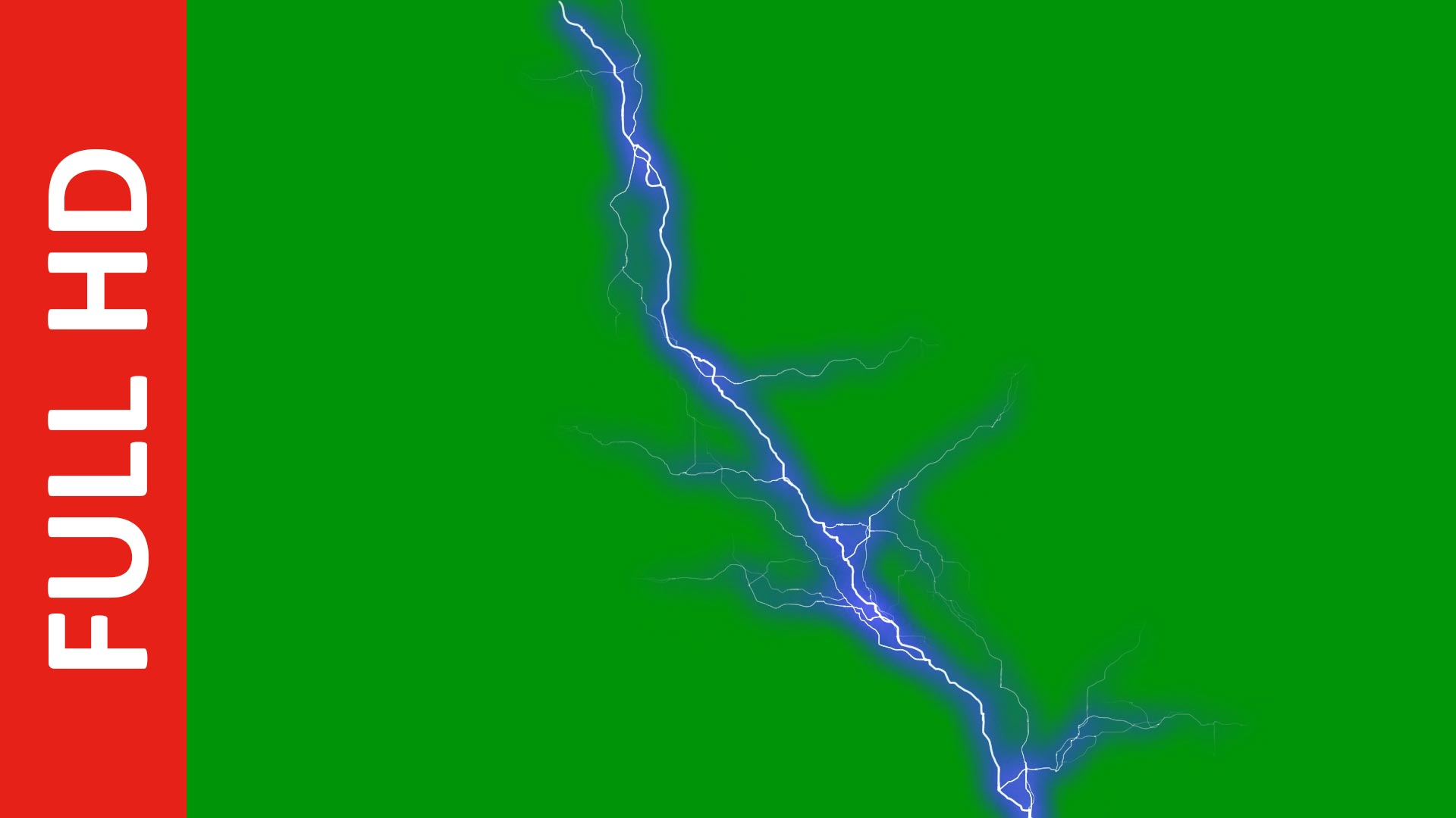 Free Ultra Visual Lightning in Black/Blue/Green Screen Effect
