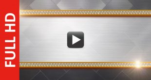 Metal Title Animation Loopable Background