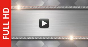 Metal Title Plate Motion Background Loops
