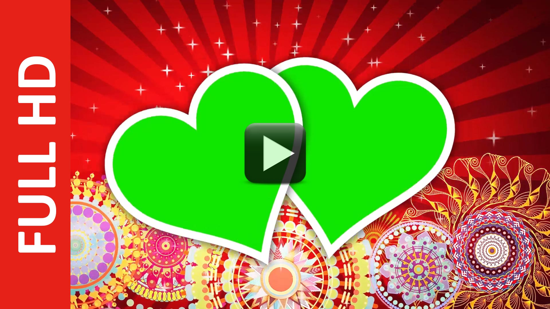 Wedding Frame Green Background Video Effects HD | All Design