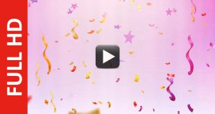 Free Video Background for Birthday