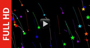 New Moving Animated Stars Background Video Effect 1080p