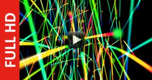 Abstract Background Animation of Moving Lines