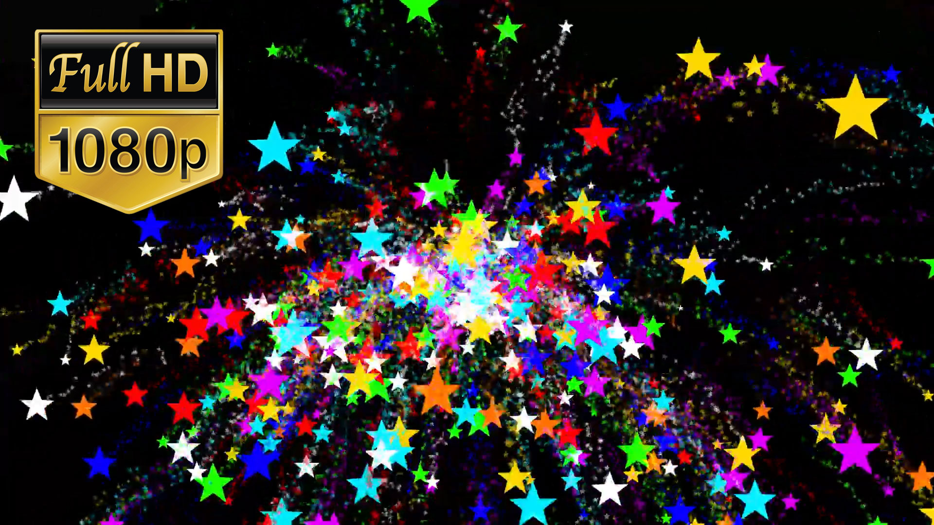 Royalty Free Stars Motion Background HD
