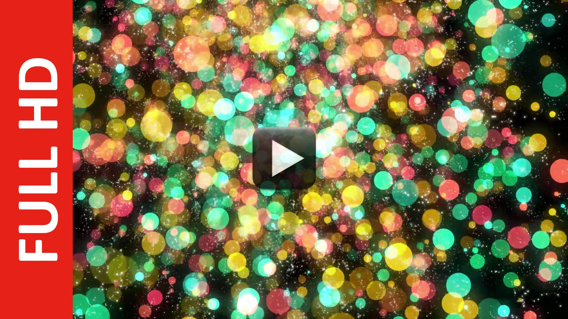 Multicolor Particle Bokeh Background Free HD Video