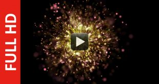 New Awesome Particles Animation Background HD 1080p