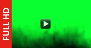Royalty Free Black Smoke Dust Wave Up | Green Screen Effect
