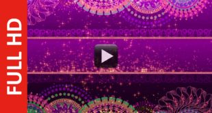 Royalty Free Title Background - Particles Wedding Motion Background
