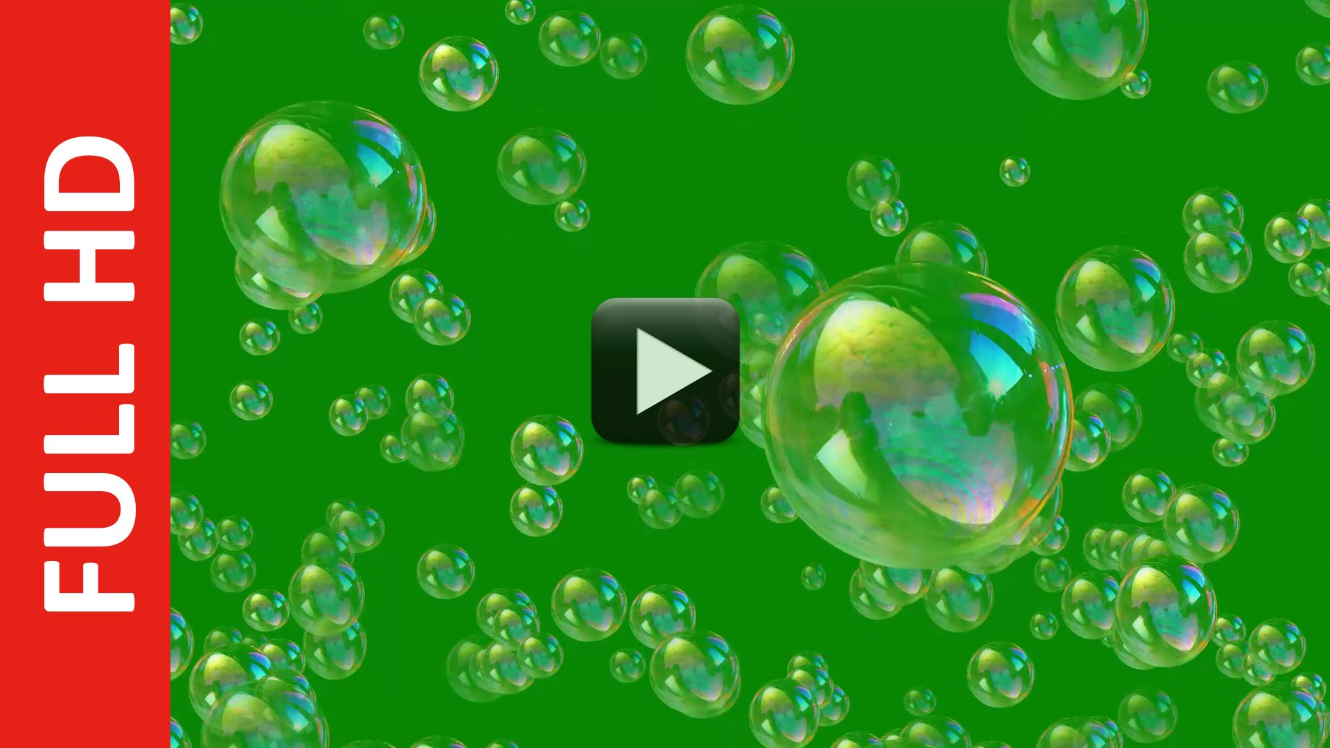 Free Soap Bubbles Green Screen Background