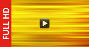 Gold Color Moving Animation Background Video Effects HD